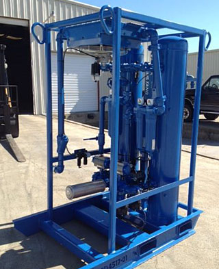 RD450 Desiccant Dryer with Aftercooler Option